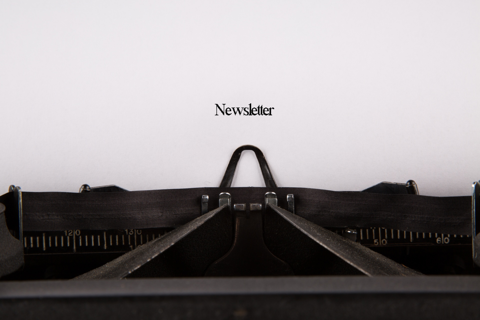 The newsletter is coming!